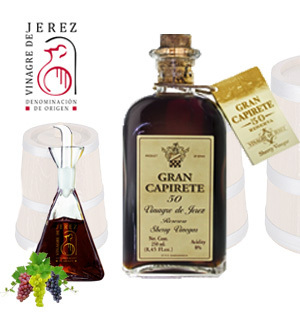 Vinegar Jerez/Sherry GRAN CAPIRETE 50 Years