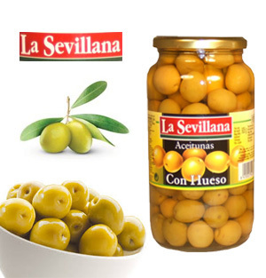 Olives LA SEVILLANA Green