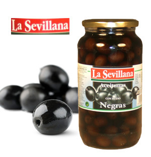 Olives LA SEVILLANA Black