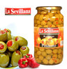 Olives LA SEVILLANA Farcies Piment Rouge