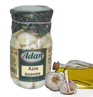 Soft Garlics in E.V. Olive Oil ADAN 370 ml