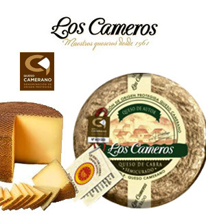 Fromage LOS CAMEROS Chèvre 750 Gr.