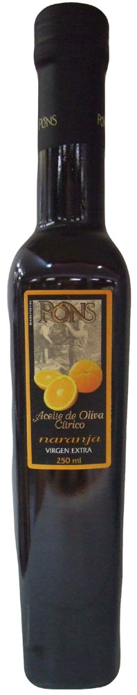 Olivenöl Extra Virgin PONS CÍTRICO Orange 0,250 L