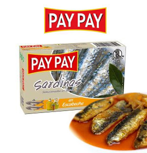 Sardinas en Escabeche PAY PAY