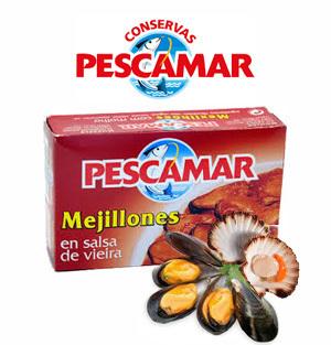 Mejillones en salsa de vieira pescamar for Cocinar mejillones en salsa
