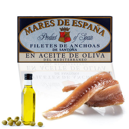 Anchovies in Olive Oil MARES DE ESPAÑA