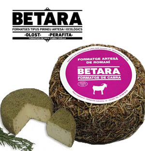 Goat Cheese BETARA with rosemary 450 Gr.