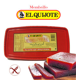 Membrillo Natural EL QUIJOTE 1,6 Kg