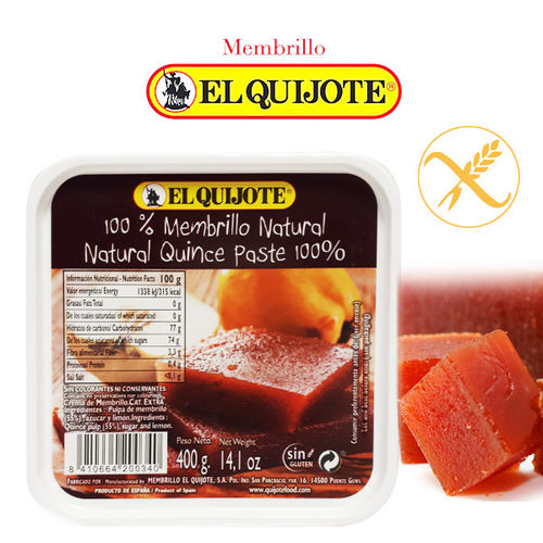 Membrillo Natural EL QUIJOTE 400 Gr.