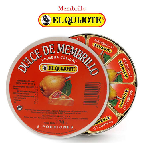 Quince Paste EL QUIJOTE Portions 170 Gr.