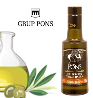 Huile d'Olive Extra Vierge PONS ARBEQUINA 250 ml