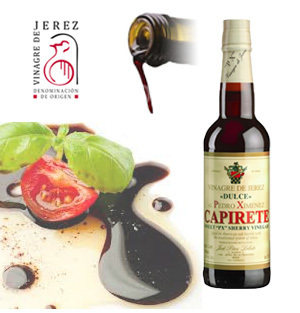 "Sweet ""P.X."" Sherry Vinegar CAPIRETE 375 ml"