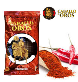 Paprika from La Vera CABALLO DE OROS Hot 250 Gr.