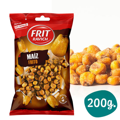 Roasted and Salted Corn FRIT RAVICH 200 Gr.