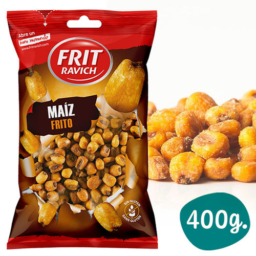 Roasted and Salted Corn FRIT RAVICH 400 Gr.