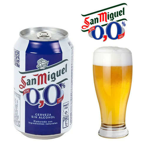 SAN MIGUEL 0'0 Beer 33 cl.