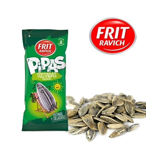 Pipas - Roasted sunflower seeds FRIT RAVICH 180 Gr.