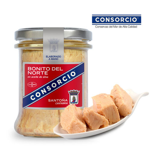White Tuna in Olive Oil CONSORCIO