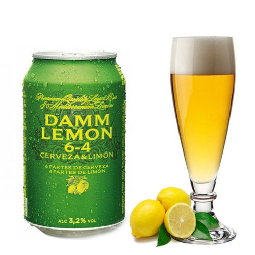 Bier DAMM LEMON 33 cl.