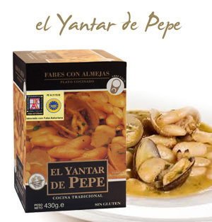 Fabes with Clams EL YANTAR DE PEPE 430 Gr