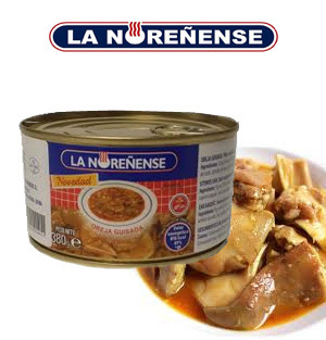 Braised pork ear LA NOREÑENSE 380 Gr