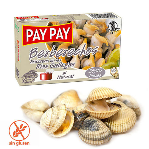 Berberechos al Natural PAY PAY 35/45