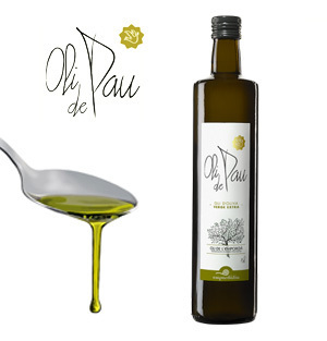 Extra Virgin Olive Oil OLI DE PAU 0,75 L