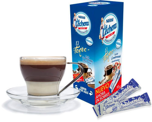 Condensed Milk LA LECHERA 30 Gr. x 50 Un.