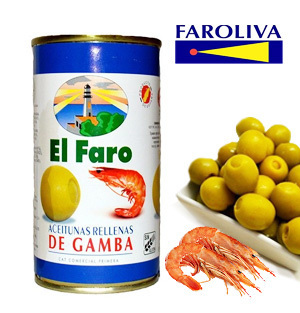 Olives EL FARO Stuffed with Prawn