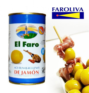 Olives EL FARO Stuffed with Ham