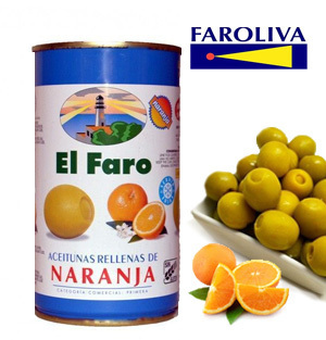Olives EL FARO Stuffed with Orange