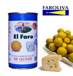 Olives EL FARO Stuffed with Cheese