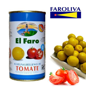 Olives EL FARO Stuffed with Tomato