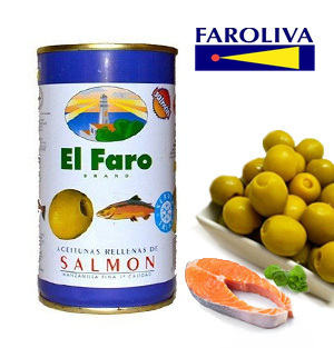 Olives EL FARO Salmon Stuffed