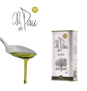 Extra Virgin Olive Oil OLI DE PAU 0,5 L