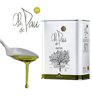 Extra Virgin Olive Oil OLI DE PAU 2 L.