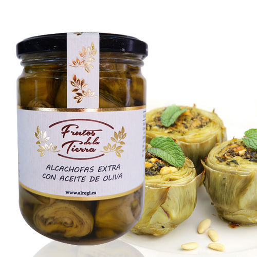 Artichoke in extra olive oil  FRUTOS DE LA TIERRA 445ML