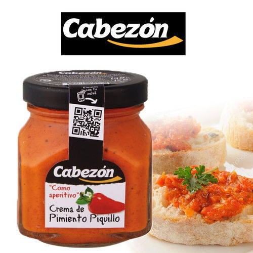 Bruschetta of Piquillo peppers CABEZON 140 g.