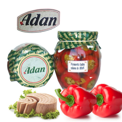 Baby pepper stuffed with tuna ADAN 314 ML