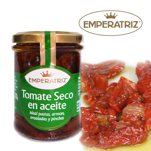 Dry tomato in oil EMPERATRIZ 220 ML