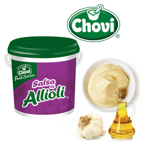 SALSA DE ALLIOLI CHOVI  2000 ML