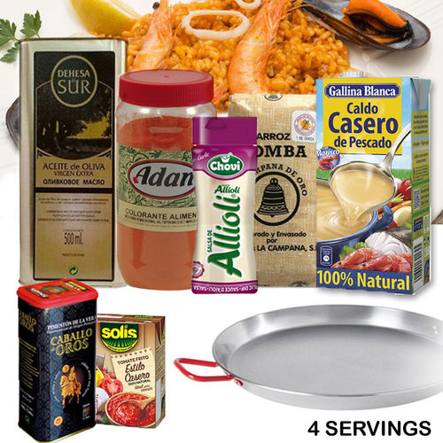 PACK PAELLA FISH 4 SERVINGS