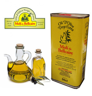 Extra Virgin Olive Oil MOLI DE BELLCAIRE 50 CL
