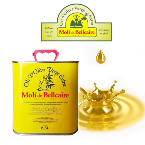 Extra Virgin Olive Oil MOLI DE BELLCAIRE 2,5 L