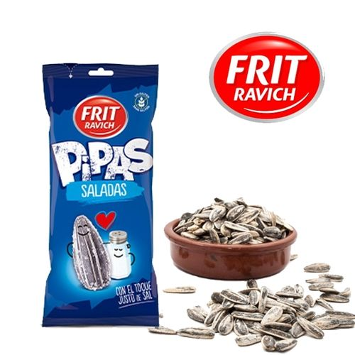 Pipas - Salted Sunflower Seeds FRIT RAVICH 130 Gr.