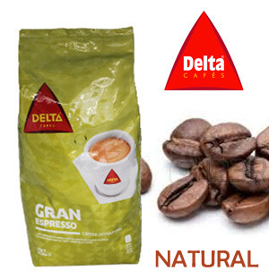 DELTA Mixed coffee beans (80/20) 1 Kg