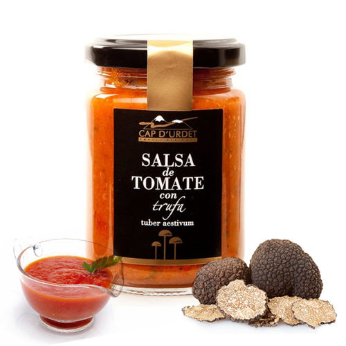 TOMATO SAUCE WITH TRUFFLE CAP D'URDET 125 GR