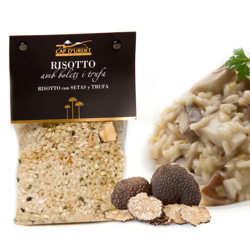 RISOTTO MUSHROOMS AND TRUFFLE CAP D'URDET 250GR