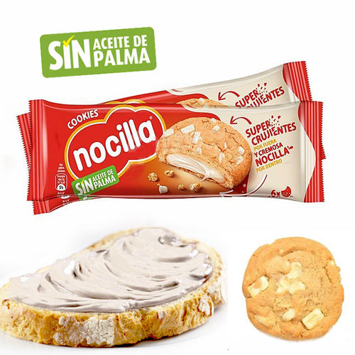 COOKIES FILLED WITH MILK CREAM NOCILLA 120 G.