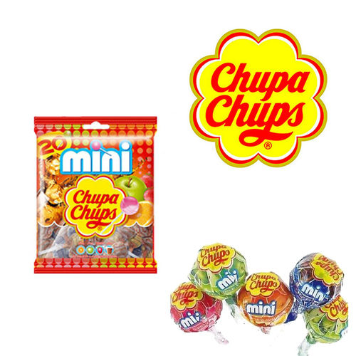 """Chupa chups"" Mini of assorted flavors 20 Units"